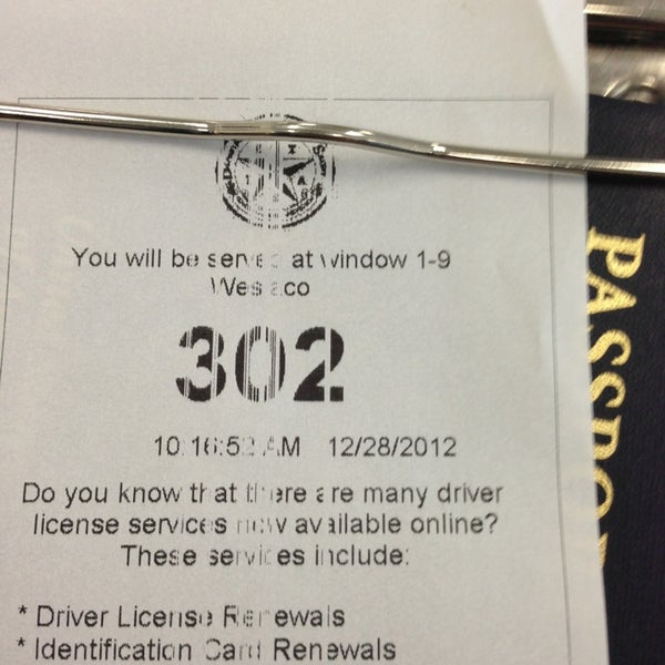 weslaco texas driver license office