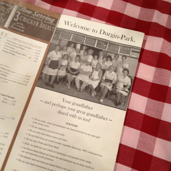 Photos at Durgin-Park Restaurant - Steakhouse in Boston