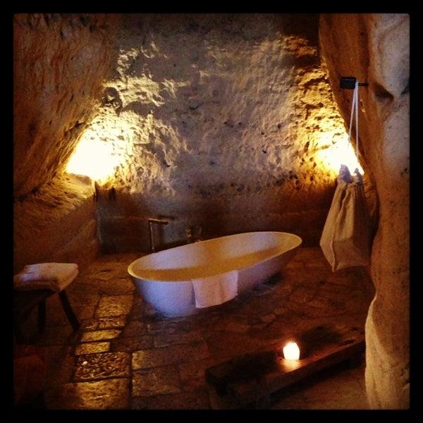 Снимок сделан в Sextantio | Le Grotte della Civita пользователем Kylie S. 1/14/2013