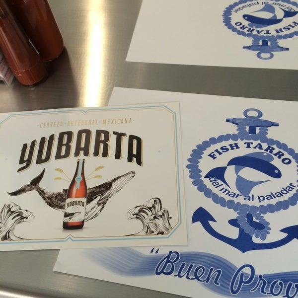 mariscos con cerveza yubarta: yumi!