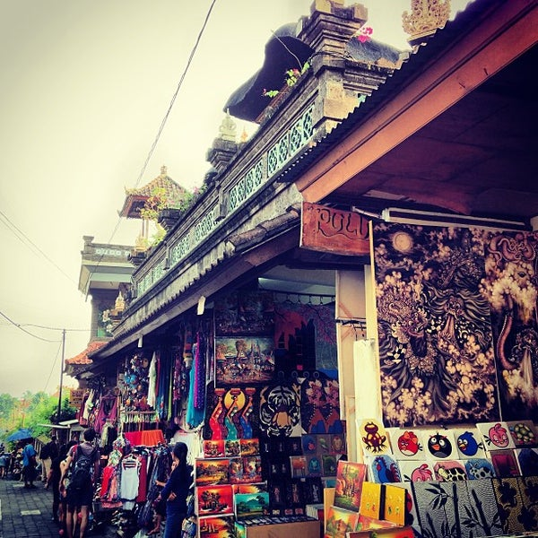 Pasar Seni Ubud Ubud Art Market Gianyar Bali