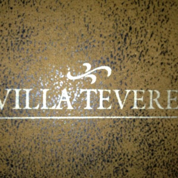 Photo prise au Villa Tevere par Cláudio T. le2/11/2013