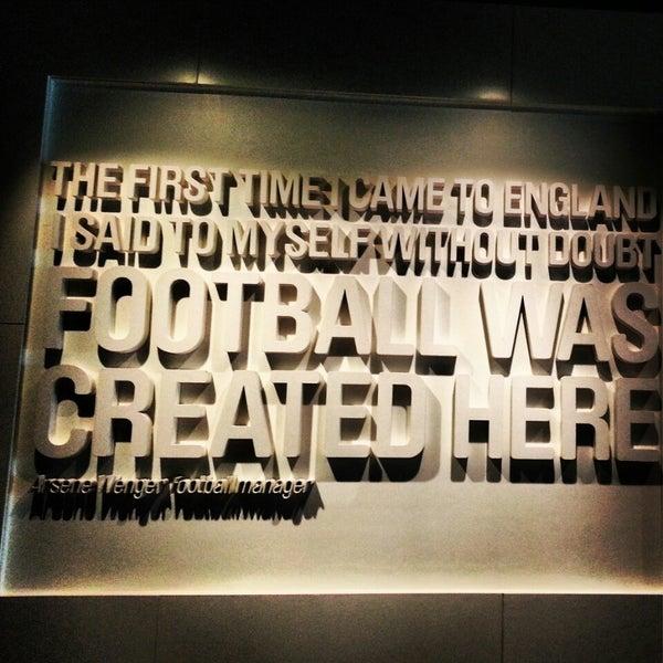 6/28/2013 tarihinde flor c.ziyaretçi tarafından National Football Museum'de çekilen fotoğraf