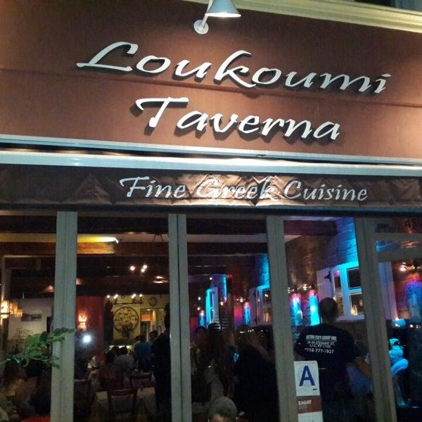Loukoumi Taverna Greek Restaurant In Astoria