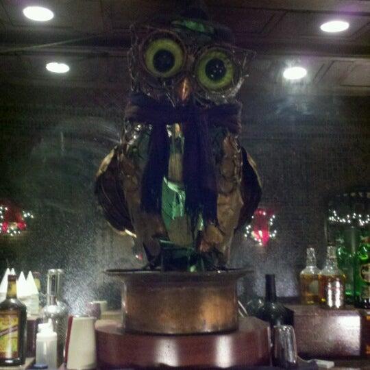 Снимок сделан в The Owl Bar пользователем Justin R. 12/27/2012