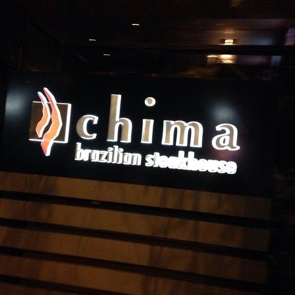 Foto diambil di Chima Brazilian Steakhouse oleh Mark M. pada 11/12/2014