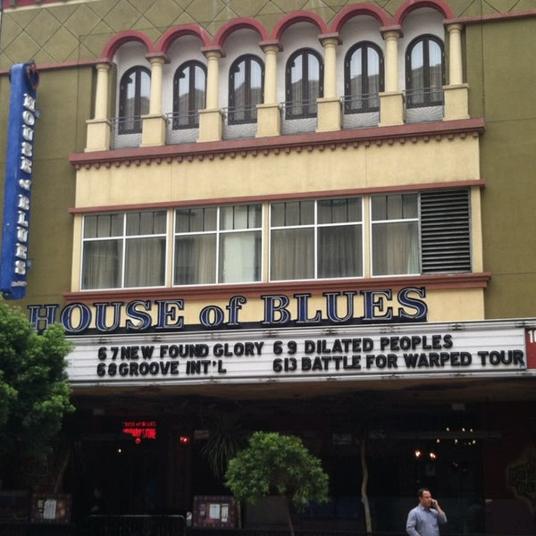 Foto tirada no(a) House of Blues San Diego por Michelle L. em 6/8/2013