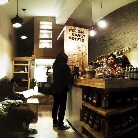 Снимок сделан в Café del Volcán пользователем Buddha Liao 12/2/2012