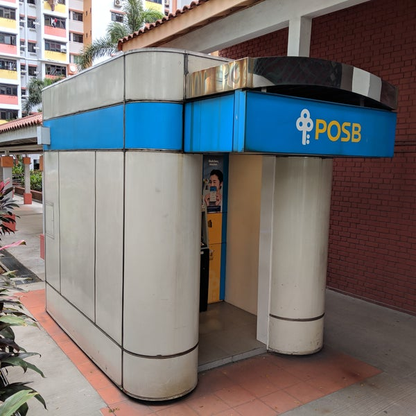 There's a POSB ATM at the next block 4