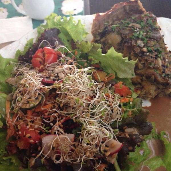 Comida vegetariana afetiva