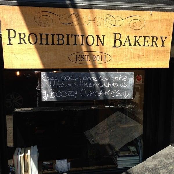 รูปภาพถ่ายที่ Prohibition Bakery โดย Gerard M. เมื่อ 8/9/2014