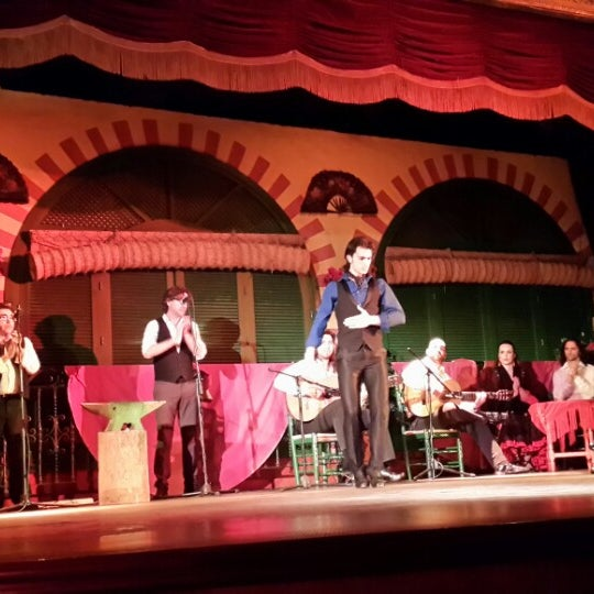 Foto tomada en Tablao Flamenco El Palacio Andaluz por Tatiana B. el 1/20/2014