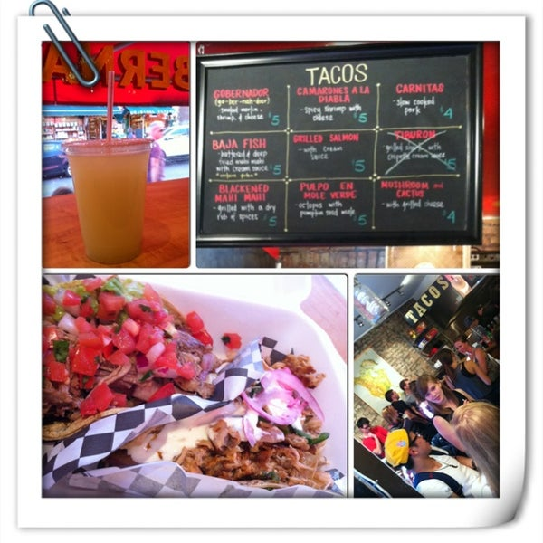 Снимок сделан в Seven Lives - Tacos y Mariscos пользователем phoenix c. 6/15/2013