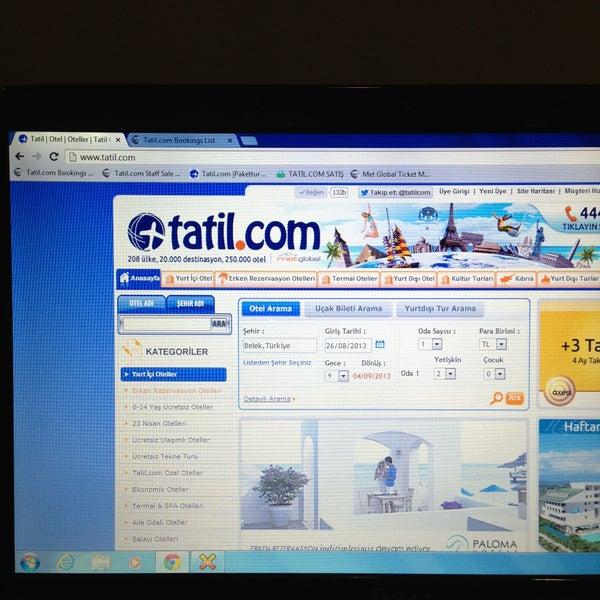 รูปภาพถ่ายที่ Tatil.com โดย Orhan Ö. เมื่อ 4/14/2013