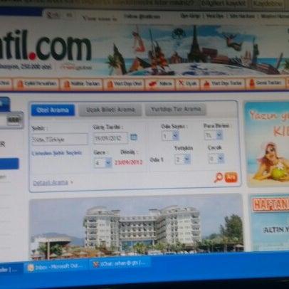รูปภาพถ่ายที่ Tatil.com โดย Orhan Ö. เมื่อ 9/18/2012
