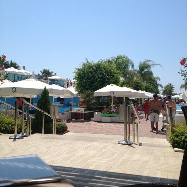 8/27/2013 tarihinde Taborkziyaretçi tarafından Q Premium Resort Hotel Alanya'de çekilen fotoğraf