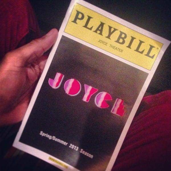 Photo prise au The Joyce Theater par Adolfo D. le4/21/2013