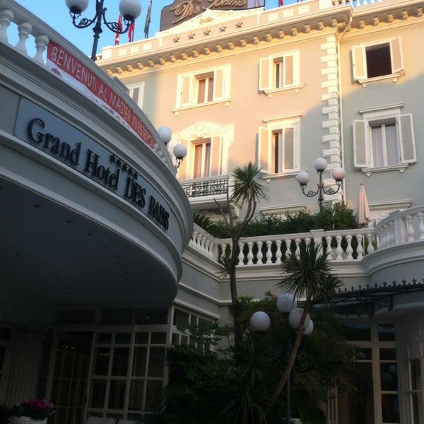 9/28/2013にValentinaがGrand Hotel Des Bainsで撮った写真
