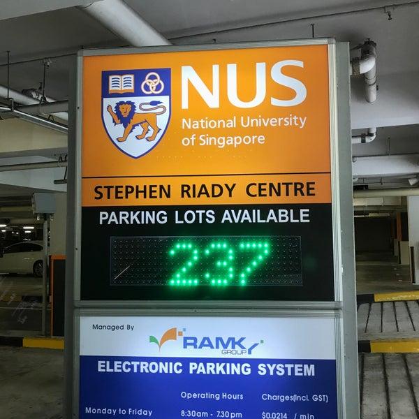 Car Park | Stephen Riady Centre - Central Region - Stephen