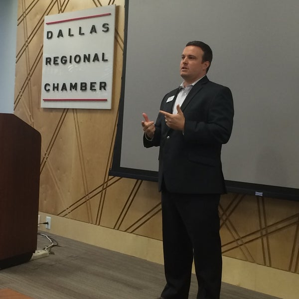 Снимок сделан в Dallas Regional Chamber пользователем Scott E. 6/17/2014