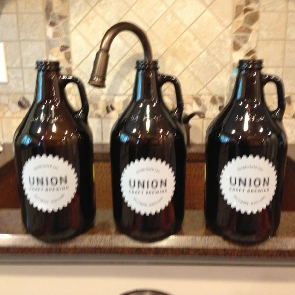 Photo taken at Union Craft Brewing by Michael S. on 8/10/2013