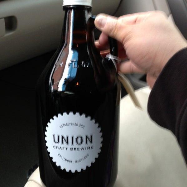 Photo taken at Union Craft Brewing by Michael S. on 12/31/2012