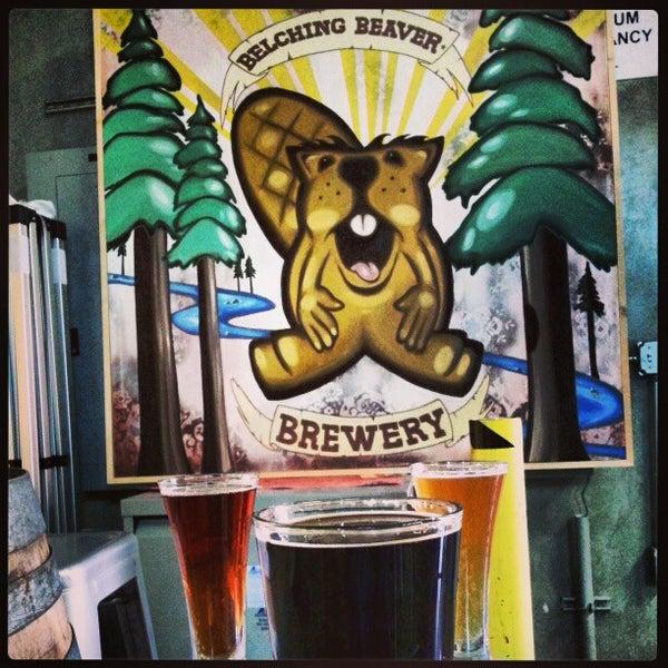 2/28/2013に@TripDawgがBelching Beaver Breweryで撮った写真