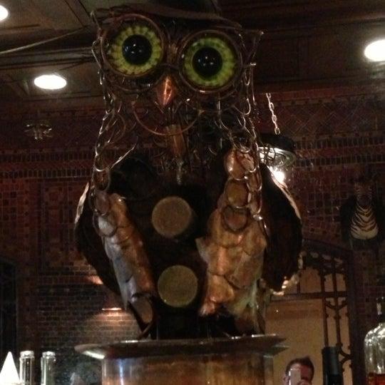 Снимок сделан в The Owl Bar пользователем Ron S. 11/10/2012