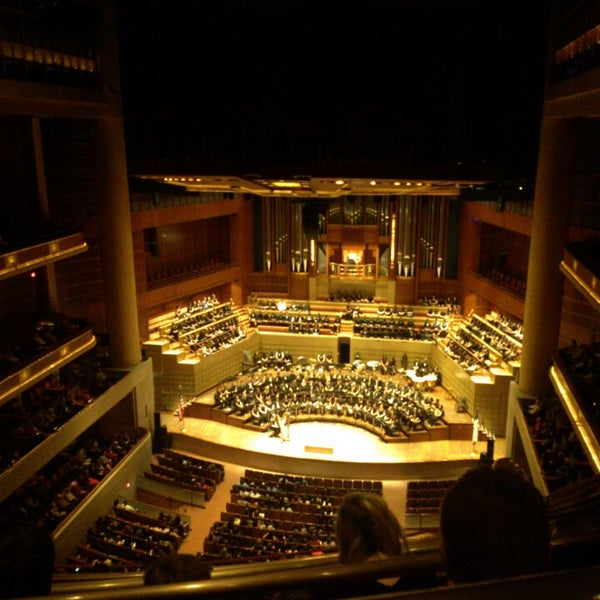 The annual SWAU music festival is simply the best. The Meyerson is just perfect for the size of the mass choir, orchestra and symphonic band.