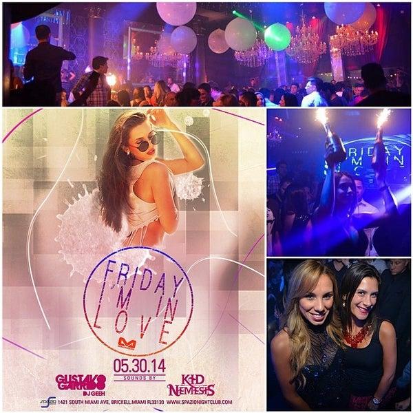 Photo prise au Spazio Nightclub par MAGMIAMI le5/29/2014