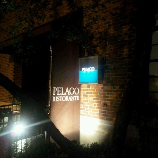 Das Foto wurde bei Pelago Ristorante von Table H. am 9/18/2012 aufgenommen