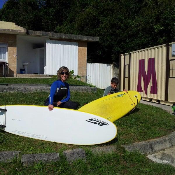 Photo taken at Escuela de surf MOBILE by Isabel C. on 7 7  d0c43c2f8c7