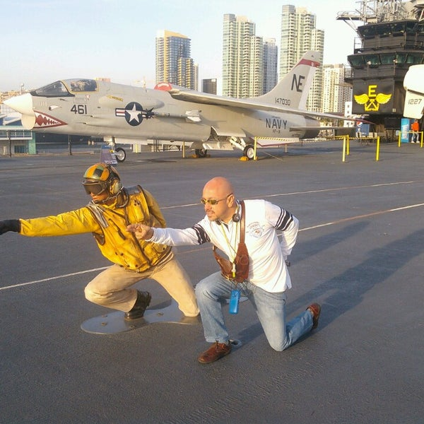 Photo taken at USS Midway Museum by Carlos Ruben B. on 3/5/2013