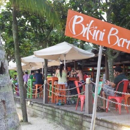 Bikini Bar - Sentosa Island - Siloso Beach