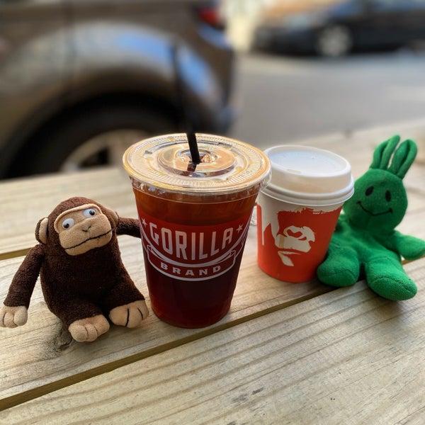 Foto scattata a Gorilla Coffee da greenie m. il 9/6/2021