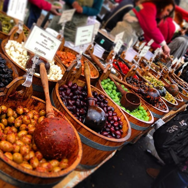 Foto tirada no(a) Borough Market por Inno O. em 12/29/2012