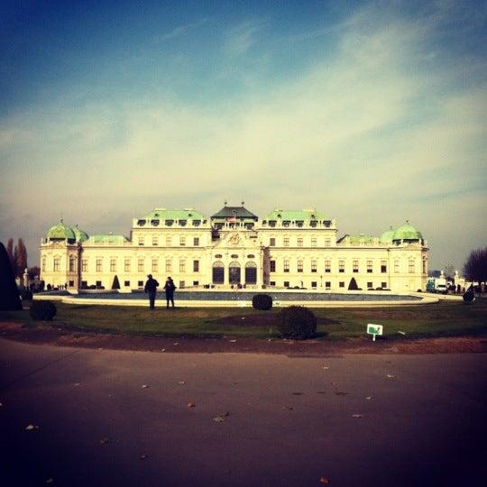 11/10/2012 tarihinde Anastasiaziyaretçi tarafından Oberes Belvedere'de çekilen fotoğraf