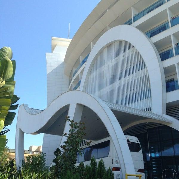 8/4/2013 tarihinde Sofi I.ziyaretçi tarafından Q Premium Resort Hotel Alanya'de çekilen fotoğraf