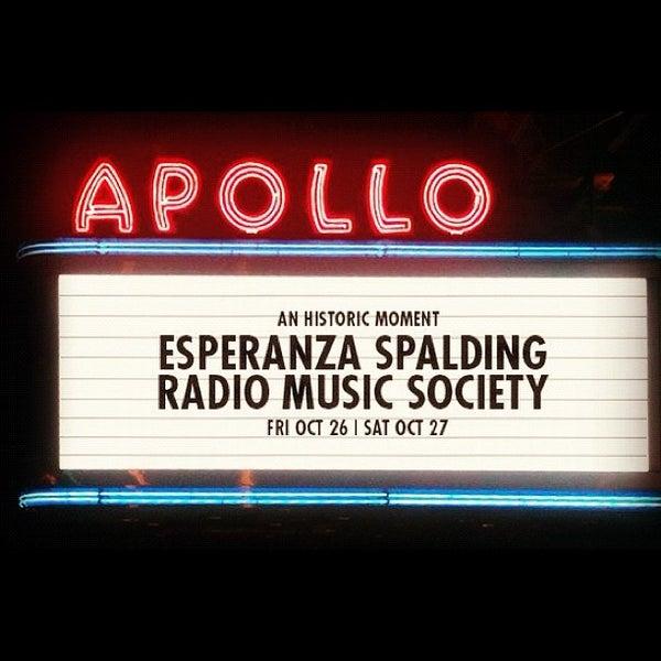 10/27/2012 tarihinde Merrick W.ziyaretçi tarafından Apollo Theater'de çekilen fotoğraf