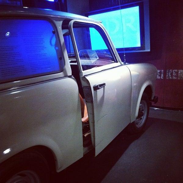9/28/2012 tarihinde Bryan M.ziyaretçi tarafından DDR Museum'de çekilen fotoğraf
