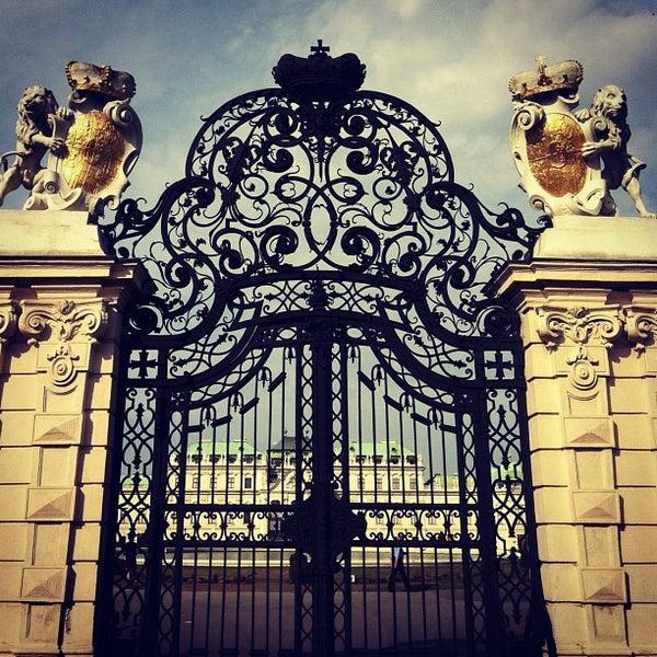 10/5/2012 tarihinde Bryan M.ziyaretçi tarafından Oberes Belvedere'de çekilen fotoğraf