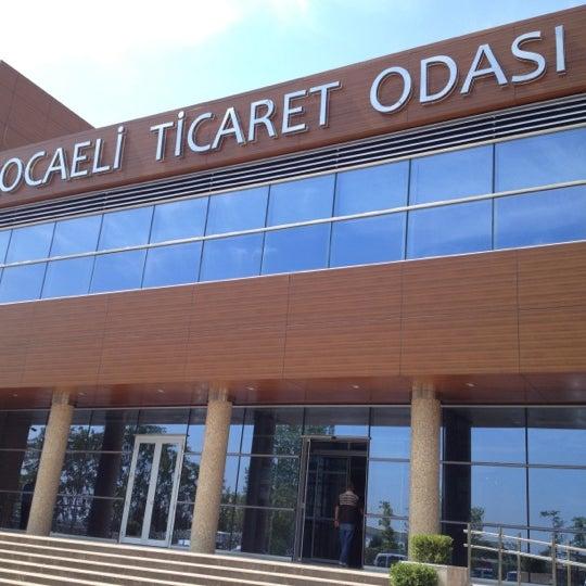 8/3/2012 tarihinde Atılay A.ziyaretçi tarafından Kocaeli Ticaret Odası'de çekilen fotoğraf