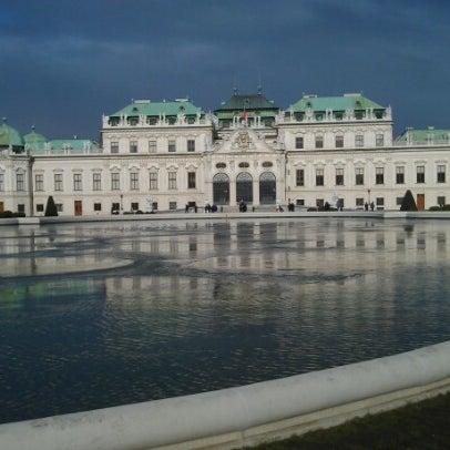 1/3/2013 tarihinde Максим С.ziyaretçi tarafından Oberes Belvedere'de çekilen fotoğraf