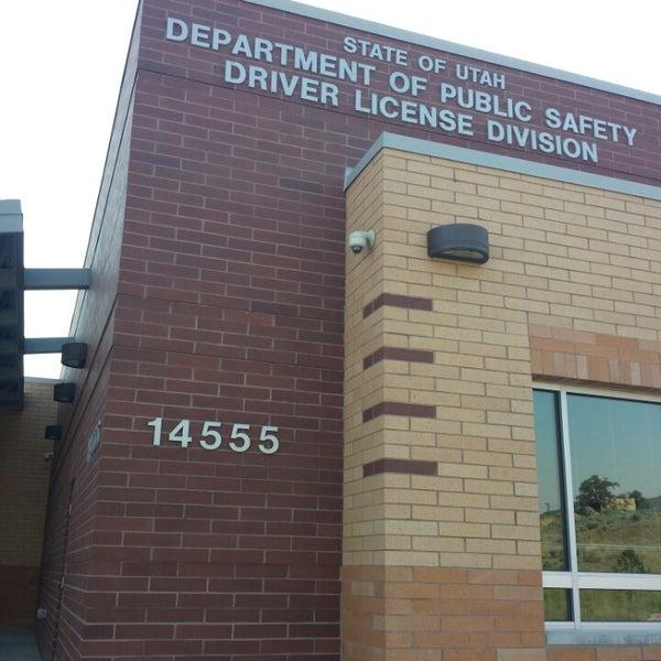 state of utah drivers license division