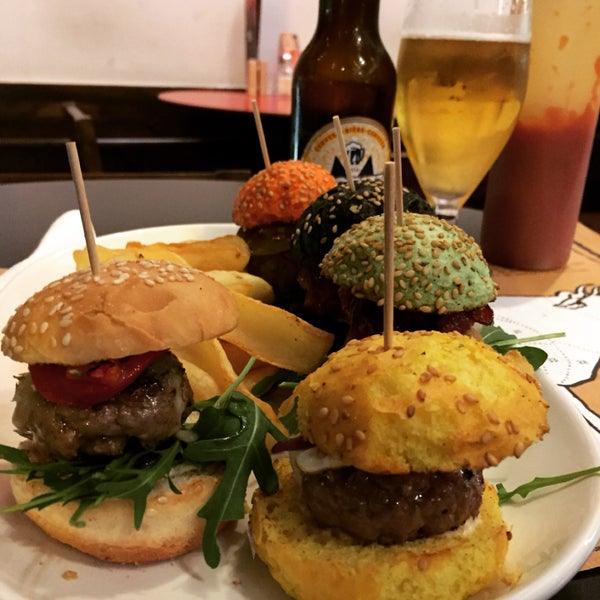 Awesome burgers. The sliders are delicious and a nice way to sample the menu.