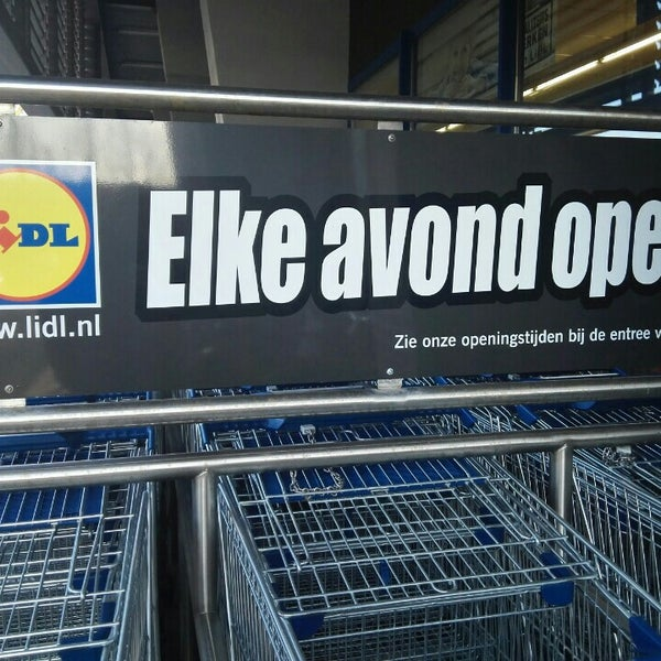Lidl Supermarket In Woerden