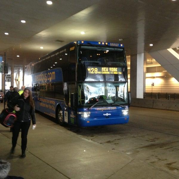 Megabus Stop Cultural District Pittsburgh Pa