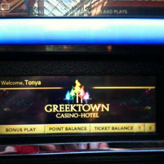 Foto scattata a Greektown Casino-Hotel da Tonya N. il 9/15/2012