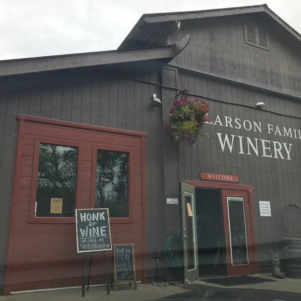 Das Foto wurde bei Larson Family Winery von Mark am 4/18/2020 aufgenommen