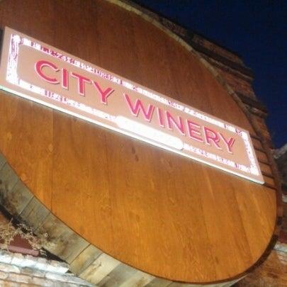11/28/2012 tarihinde Chris S.ziyaretçi tarafından City Winery'de çekilen fotoğraf